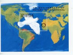 Angola 1995-Rotary, Colombe De La Paix-B20***MNH***MNH