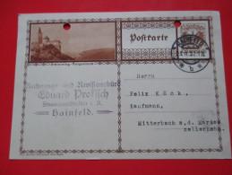 Correspondence Card / Postcard -Schlaining ,Burgenland, Hainfeld -1932.