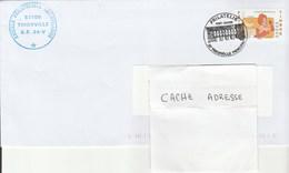 Enveloppe Avec Cachet Bureau Philatélique Sans Date THIONVILLE
