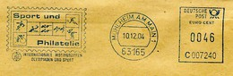 Allemagne EMA Sport Und Philatélie Football, Cyclisme, Tir, Tennis Canoe... - Stamps