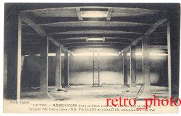 Cpa Le Teil - Réservoir D'eau En Béton Armé ... MM. Tailland Et Sabatier, Entrepreneurs - Le Teil