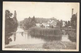 SAINT MARS La BRIERE Rare Papeterie Du Bourray (Dolbeau) Sarthe (72) - Autres Communes