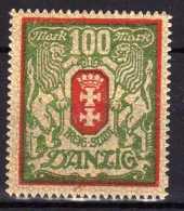Danzig 1922 Mi 101 Y * [261016XVII] - Danzig