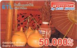Mobilecard Laos - Handwerk - Tradition (9)