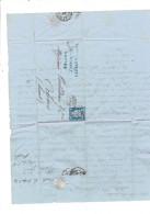 FACTURE 1874 NANTES MAISON GRELIER 2 QUAI DUQUESNE POUR MAISON COUTADEUR A ORLEANS - Francia