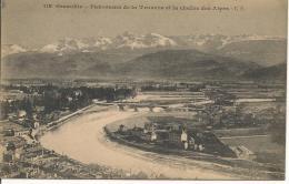 GRENOBLE Panorama De La Tronche Et La Chaîne Des Alpes