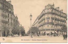 GRENOBLE L' Avenue Alsace-Lorraine