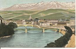 GRENOBLE Les Ponts Et L'Isère