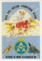 Associazione Arma Aeronautica - Trino 13-14 Maggio 2000 - Dis. Aldo Brovarone  (Vedi 2 Foto) - 1946-....: Era Moderna