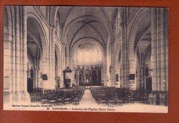 1 Cpa Tonneins Interieur De L Eglise Notre Dame - Tonneins