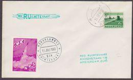 Netherlands Rocketmail, Rakettenpost, Raketpost Launched From Markelo Flight 934  EZ 94 C.2   Marked Lochem 15-7-1963
