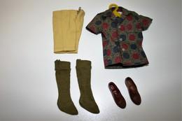 Barbie Accesoires ´50-´60 - KEN - CLOTHES - Sport Shorts 1962 - Original Vintage Barbie - Ken - Ricky - Skipper - Barbie