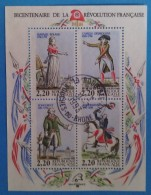 France 1989  : Personnages Célèbres De La Révolution N° 10 Oblitéré