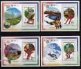 MADAGASCAR 1992 SPORT, OLYMPIC GAMES MNH MI. BL. 225 - 228 OV. PR.