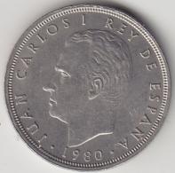 @Y@    Spanje   5 Pesetas  1980     (3363) - [ 5] 1949-… : Koninkrijk