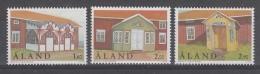 SERIE NEUVE D´ALAND - ARCHITECTURE : VERANDAS N° Y&T 146 A 148