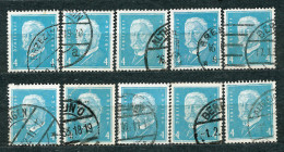 Deutsches Reich 1931, MiNr 454 Used (6) - Lot Of 10 Stamps - Allemagne