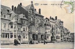 La Panne NA58: Villas Sur La Digue 1912 - De Panne
