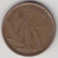 @Y@    Belgie  20 Francs  1981   (3357) - 1951-1993: Boudewijn I