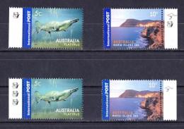 Australia 2006 Platypus 5c & 2007 Maria Island 10c Reprints MNH - Ungebraucht