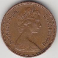 @Y@    Groot Britannië   1 New Penny  1975  (3368) - 1971-… : Decimale Munten