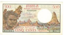 Djibouti, 500 Fr. 1979, UNC. Free Ship. To USA. - Djibouti