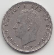 @Y@    Spanje 5 Pesetas  1975    (3369) - [ 5] 1949-… : Koninkrijk