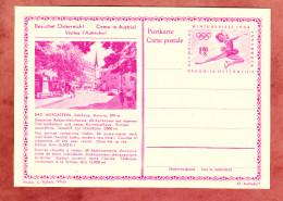P 428 Winterspiele 1964 Eiskunstlaeuferin, Abb: Bad Hofgastein, Ungebraucht (33122)