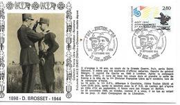 21  NODS SUR SEINE  Jonction 1° DFL Général Diégo Brosset 2° DB General Leclerc 1944/1994  17/0994