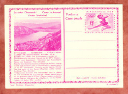 P 428 Winterspiele 1964 Eiskunstlaeuferin, Abb: Sattendorf U.a., Ungebraucht (33127)