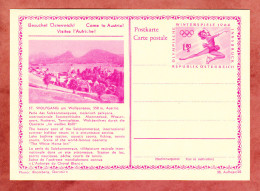P 428 Winterspiele 1964 Eiskunstlaeuferin, Abb: St.Wolfgang, Ungebraucht (33128) - Entiers Postaux