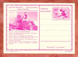 P 428 Winterspiele 1964 Eiskunstlaeuferin, Abb: Dachsteinseilbahn, Ungebraucht (33129)
