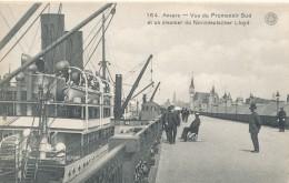 ANTWERPEN / STEAMER NORDDEUTSCHER LLOYD EN PROMENADE - Antwerpen