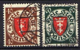 Danzig 1935 Mi 243-244, Gestempelt [261016XIII]