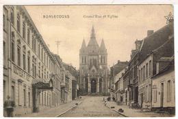 76BON5- BONSECOURS -  Grand' Rue Et L'église - Bonsecours