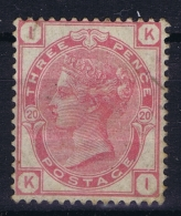 Great Britain SG 144 MH/*  1873 Mi 41  Plate 20 Fold - 1840-1901 (Viktoria)