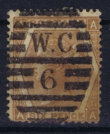 Great Britain SG 122 Used  1872 Mi 38  Plate 11