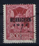 Germany : Occupation Of Rhodos 1944 Weihnachten Briefmarke Mi Nr 12 Used - Occupazione 1938 – 45