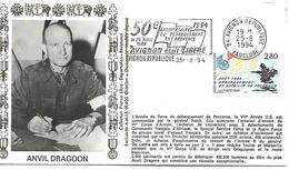 84  AVIGNON  50° Anniversaire Du Débarquement En Provence Le 25 Aout 1944 Avignon était Libre  25/08/94