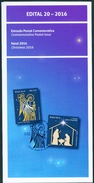 BRAZIL 2016 - EDICT #20   -  CHRISTMAS    PORTUGUESE AND ENGLISH - Brazil