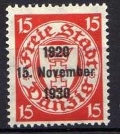 Danzig 1930 Mi 222 * [261016XIII]