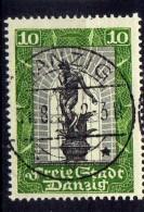 Danzig 1929 Mi 217, Gestempelt, Mit Kontrollpunkt Oben [261016XIII]