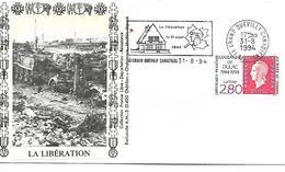 76  LE GRAND QUEVILLY  La Libération 31 Aout 1944  31/08/94