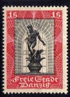 Danzig 1929 Mi 218 *, Mit Kontrollpunkt Unten [261016XIII]