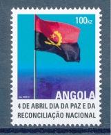 Angola - 2013 - 4 De Abril / Dia Da Paz E Da Reconciliação Nacional - MNH / ( ** )