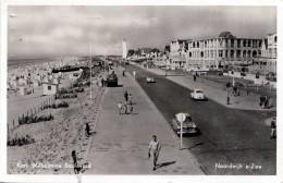 NOORDWIJK A/ZEE - KON.WILHEMINA BOULEVARD, Fotokarte Gel.1956, Transportspuren - Noordwijk (aan Zee)
