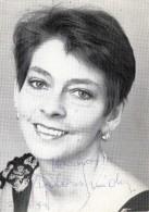 DOLORES SCHMIDINGER Mit Orig.Autogramm, österreichische Schauspielerin Und Kabarettistin Fotokarte 199? - Autogramme & Autographen