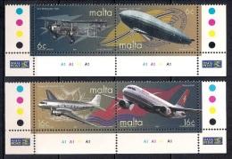 (A) Malta 2000 - Mint - The 100th Anniversary Of Air Transport - Malta
