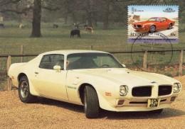 Pontiac Firebird Trans-Am  (1973)  -  Carte Postale -  Maxi Card Avec Timbre - Voitures De Tourisme