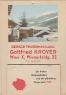 Werbung ALTER KALENDER 1969 - Grossformat : 1961-70